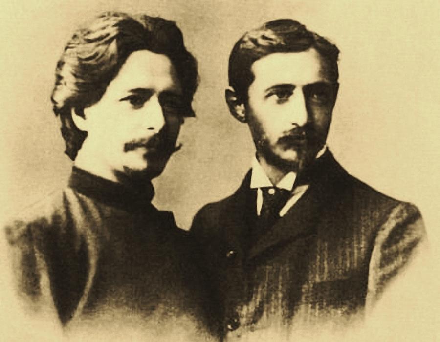 М. Горький и И.А. Бунин