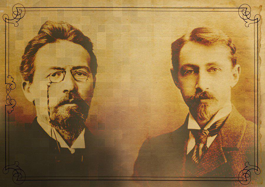 А.П. Чехов и И.А. Бунин